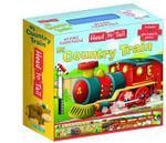 My Country Train Head to Tail Floor Puzzle - P. Dronsfield