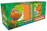 Dinosaur Train Book & Bookend Pack : Includes 4 dinosaur train and 2 wooden bookends! - The Five Mile Press