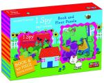 I Spy First Words Book and Floor Puzzle - Jeannette Rowe