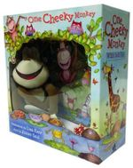 One Cheeky Monkey Large Book and Plush - Lisa Kerr