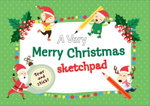 Very Merry Christmas Sketchpad - The Five Mile Press