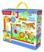 Fisher-Price Floor Puzzle : Jungle World - The Five Mile Press