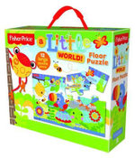 Fisher Price A Little World Floor Puzzle : 12 large puzzle pieces - The Five Mile Press
