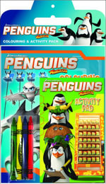 Penguins of Madagascar Colouring & Activity Pack - The Five Mile Press