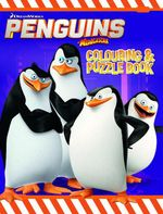 Penguins of Madagascar Colouring & Puzzle Book - The Five Mile Press