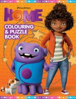 Home Colouring and Puzzle Book - DreamWorks