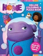 Home Deluxe Colouring and Puzzle Book : Ideal for felt-tip pens! - DreamWorks