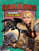 How to Train Your Dragon Core Colouring and Puzzle Book - The Five Mile Press