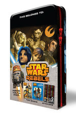 Star Wars Rebels Pencil Case Tin - Star Wars Rebels