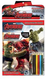 Marvel Avengers : Age of Ultron Activity Bag : Colouring Book and Activity Pad With Coloured Pencils