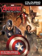 Marvel Avengers Age of Ultron Colouring and Activity Book