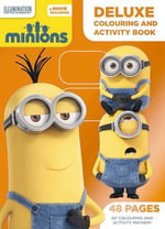 Minions Deluxe Colouring and Activity Book