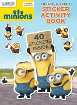 Minions Create a Scene Sticker Activity Book