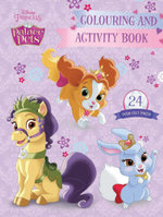 Disney Princess Palace Pets Colouring & Activity Book