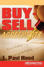 Buy-Sell Agreements - L Paul Hood, Jr.