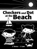 Checkers and Dot at the Beach - J. Torres