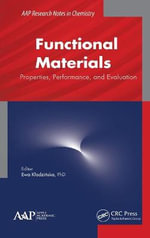 Functional Materials : Properties, Performance, and Evaluation