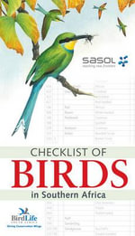 Checklist of Birds in Southern Africa : Unleashing the Explosive Power of Your Mind to Max... - Birdlife South Africa