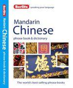 Berlitz : Mandarin Phrase Book & Dictionary - Berlitz