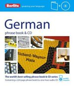 Berlitz : German Phrase Book & CD - Berlitz