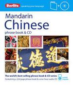 Berlitz Mandarin Chinese : Phrase Book and CD - Berlitz