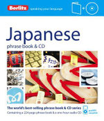 Berlitz : Japanese Phrase Book & CD : Berlitz Phrase Book & CD - Berlitz