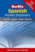Berlitz Language : Spanish Pocket Dictionary - Berlitz