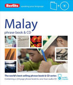 Berlitz Language : Malay Phrase Book & CD : Berlitz Phrase Book & CD   - Berlitz
