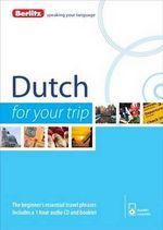 Berlitz Dutch for Your Trip : Modern Jewish Experience - Berlitz