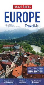 Insight Travel Map : Europe - Insight Guides