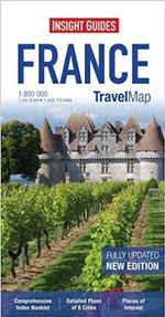 Insight Travel Map : France - Insight Guides
