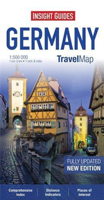 Insight Travel Map : Germany