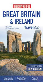 Insight Travel Map : Great Britain & Ireland - Insight Guides