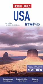 Insight Travel Map : USA & Canada South : Fully Updated : New Edition - Insight Guides