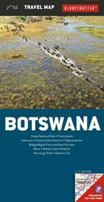 Botswana : Globetrotter Travel Maps - Globetrotter