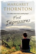 First Impressions : A contemporary English romance - Margaret Thornton