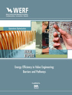 Energy Efficiency in Value Engineering : Barriers and Pathways - Joseph Cantwell