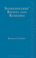 Shareholders' Rights and Remedies : Cases and Materials, Second Edition - Karole Cuddihy