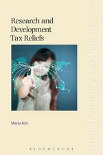 Research and Development Tax Reliefs - Maria Kitt