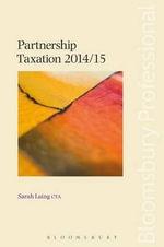 Partnership Taxation 2014/15 - Sarah Laing