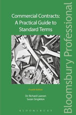 Commercial Contracts : A Practical Guide to Standard Terms - Richard Lawson