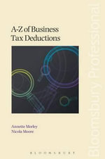 A-Z of Business Tax Deductions - Annette Morley