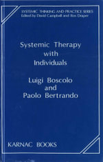 Systemic Therapy with Individuals - Paolo Bertrando