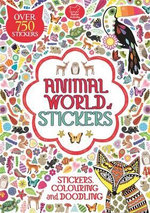 Animal World of Stickers - Buster Books