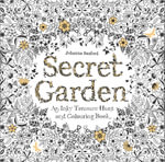 Secret Garden : An Inky Treasure Hunt and Colouring Book - Johanna Basford