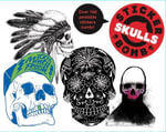 Stickerbomb Skulls - Studio Rarekwai (SRK)