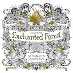Enchanted Forest : An Inky Quest & Coloring Book - Johanna Basford