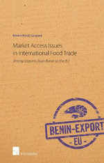 Market Access Issues in International Food Trade 2015 - Kevine Kindji Gaspard