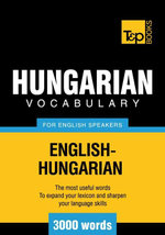 T&p English-Hungarian Vocabulary 3000 Words - Andrey Taranov