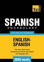 T&p English-Spanish Vocabulary 3000 Words - Andrey Taranov